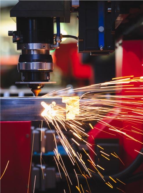 کاربرد برش لیزر فلزات